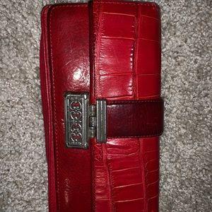 Brighton Wallet red